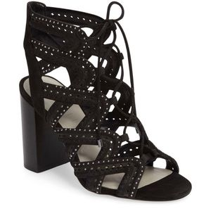 1. State Kayley Lace Up Heeled Sandals Size 10
